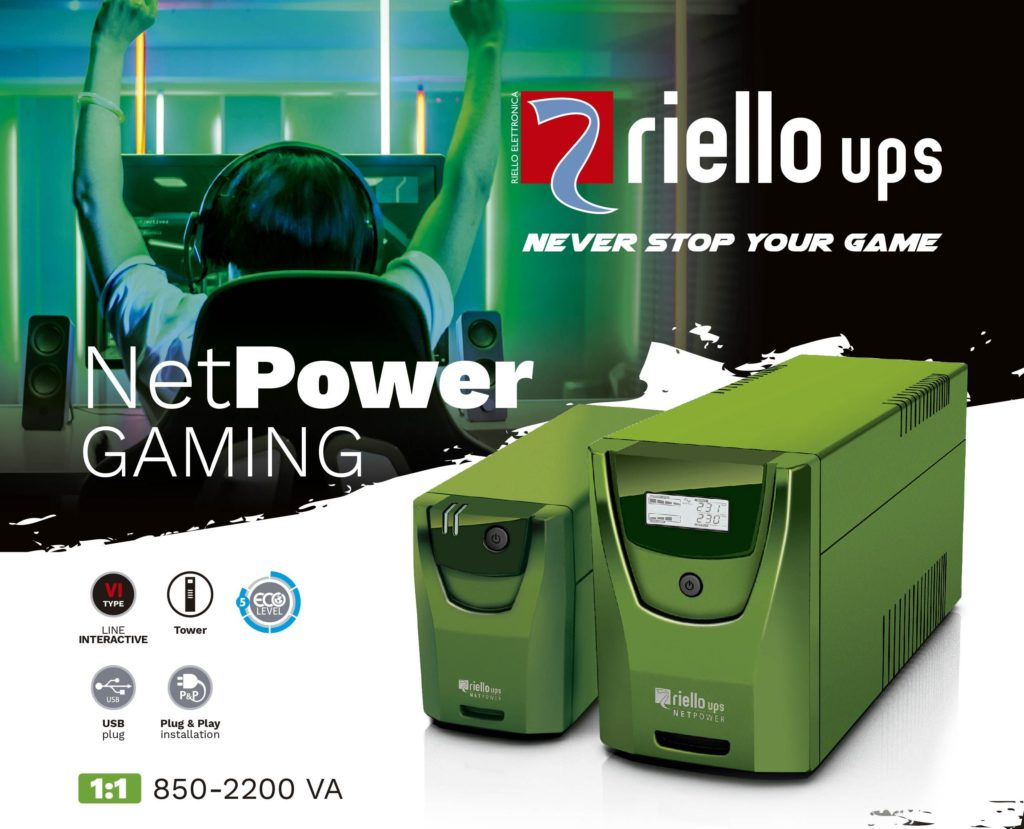 Foto de Riello UPS Net Power Gaming