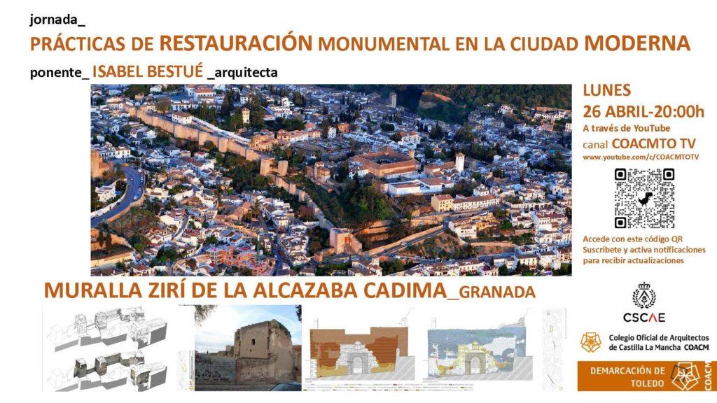 Foto de Jornada sobre restauración monumental impartida por la
