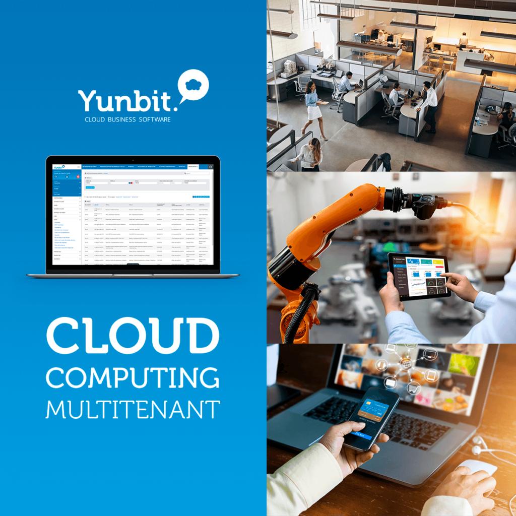 Foto de Yunbit, cloud computing multitenant