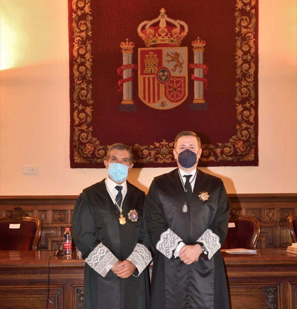 Foto de Pte TSJA y pte Consejo Andaluz
