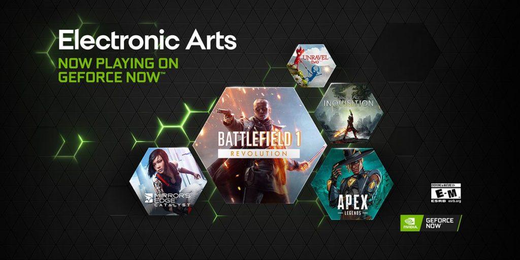 Foto de EA en dispositivos NVIDIA
