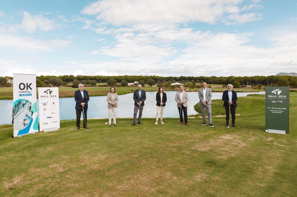 Foto de Presentación Oficial Mallorca Golf Open